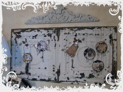 ceiling tin magnetic board