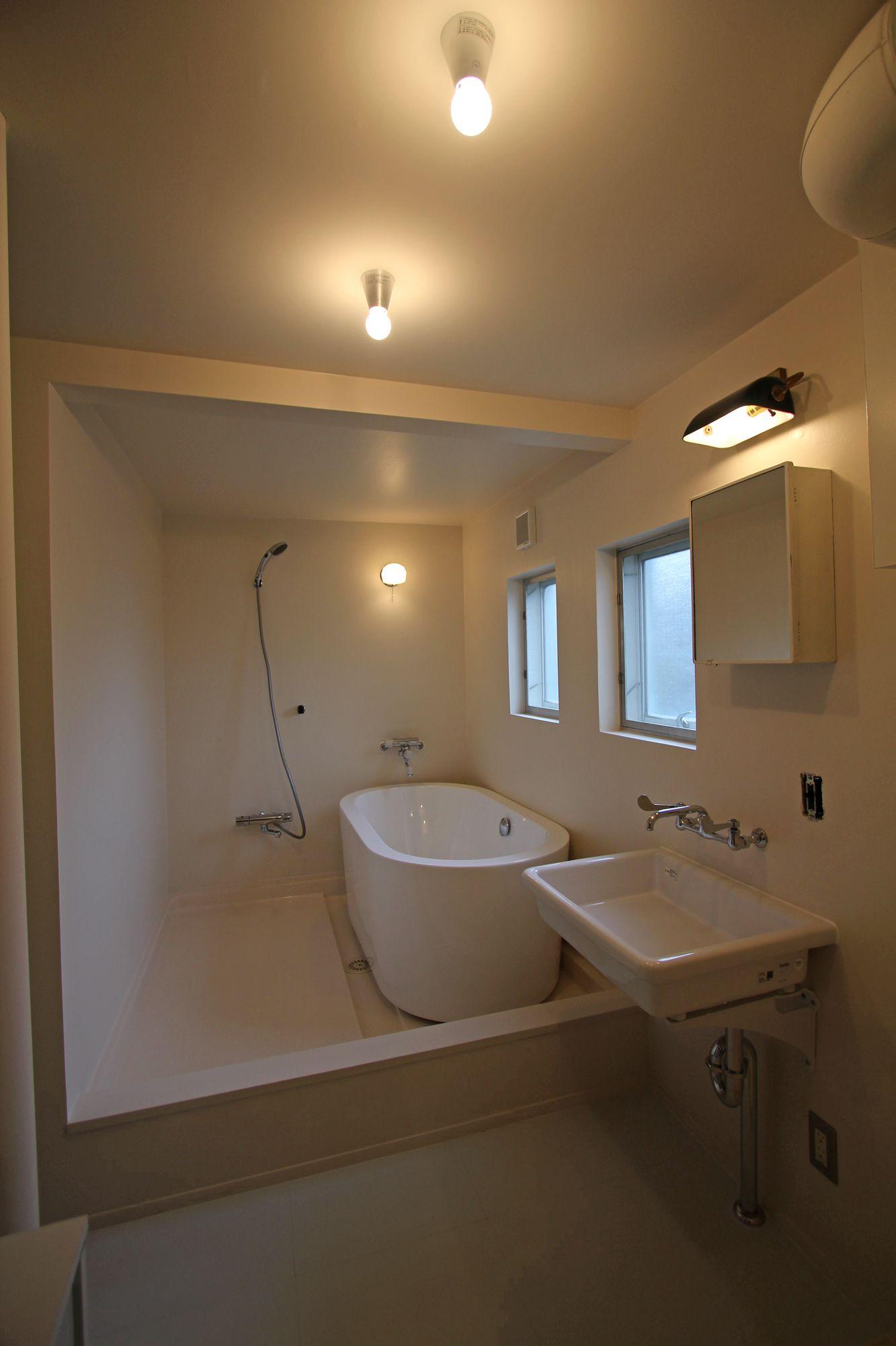 リノベーションは 東京都目黒区の フィールドガレージへ Top バスルーム 浴槽 インテリア