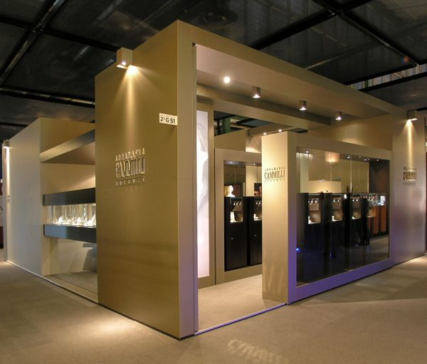 Jewelry Exhibition Stand Design : Various jewelry exhibition spaces on behance good structure color