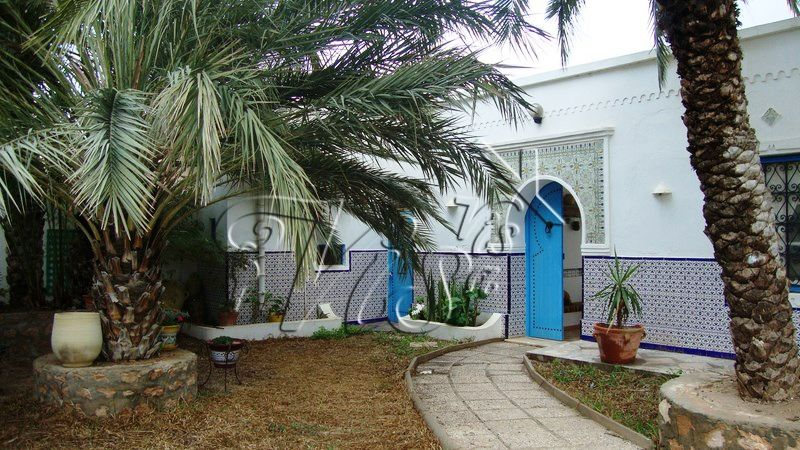 Houch Djerba Maison Traditionnelle Djerba Tunisie Maison