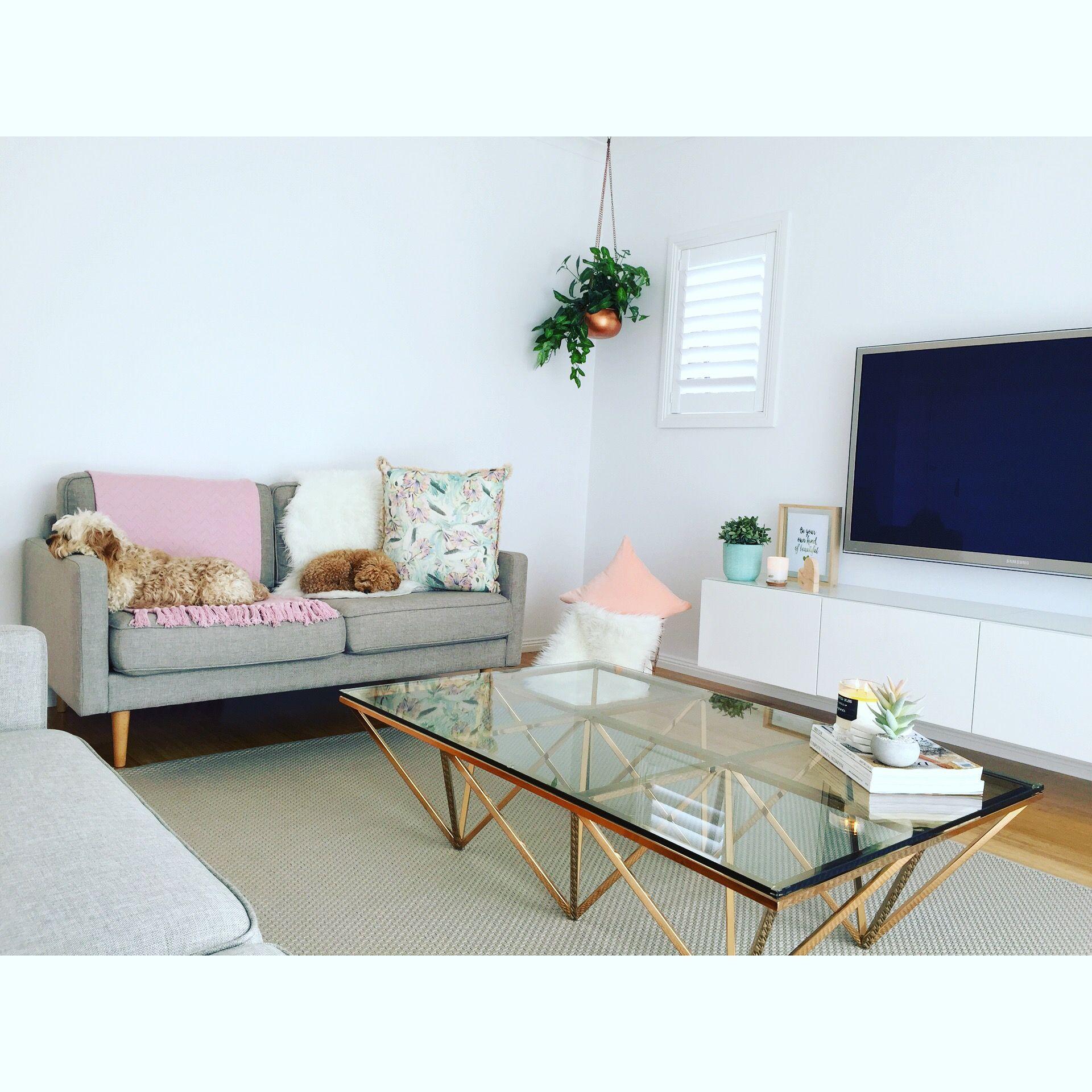 Scandi Love Scandinavian Decor Copper Coffee Table White Gloss Floating Tv Unit My Style Pastel Colours Hanging Mi Scandinavian Decor Tv Unit Decor Decor