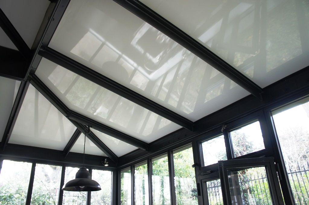 Photo : toit de véranda en panneaux isolants thermotop en 2020 | Styles de toit, Toiture ...