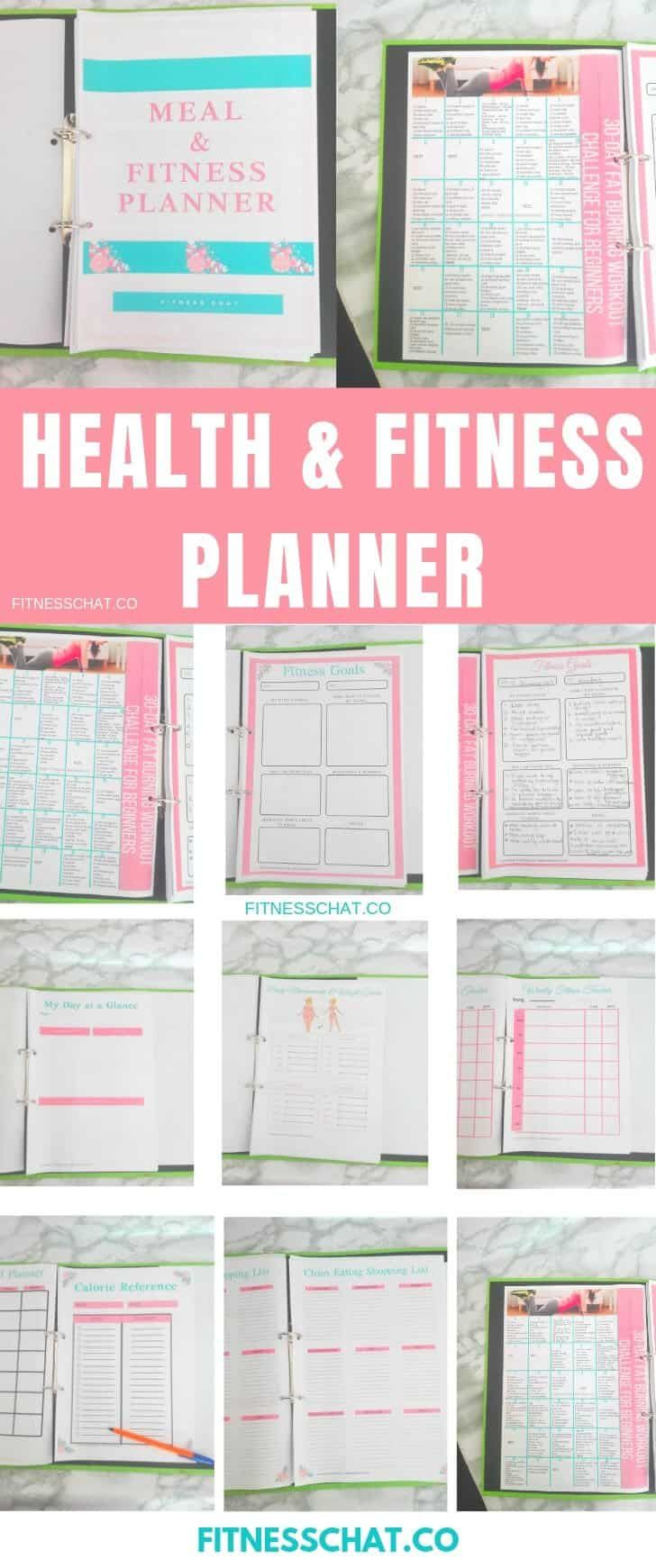 Printable Health and Fitness Planner to Help You Smash Your Goals -   16 fitness Journal printable ideas