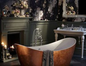Here are photos of made in 3D bathroom floors that will give you the feeling of being elsewhere..You might also like60 Brilliant And Practical DIY Bathroom Storage Ideas,25 Clever bathroom storage ideas and inspirationand40 Creative