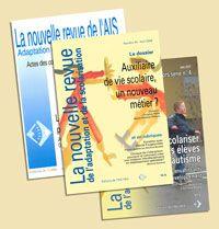 La nouvelle revue de l'adaptation et de la scolarisation, n°63, novembre 2013.  Dossier : Handicap, l'école et après...? Ruptures et continuité des parcours.