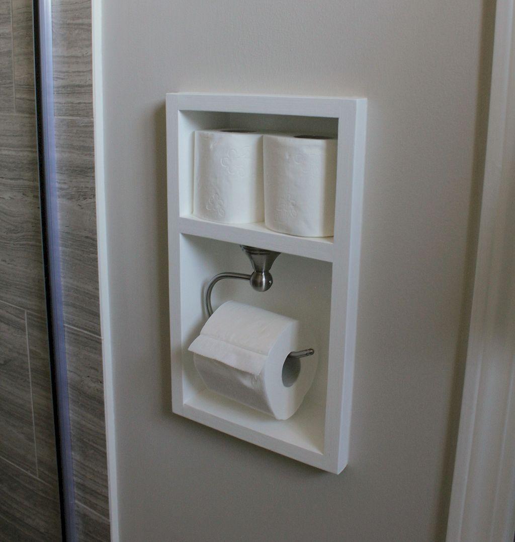 Cool Home Renovation Ideas: Cool Small Master Bathroom Renovation Ideas (15)