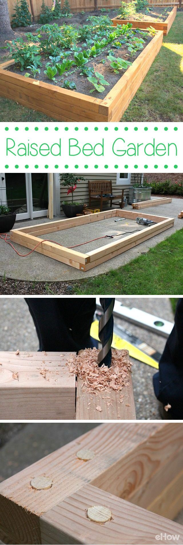 to Build a Raised Bed Garden