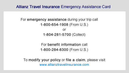 Purchase A Travel Insurance Policy Step 1 Allianz Global