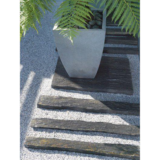Bordure Droite Ardoise Noir H 8 X L 100 Cm Faience Carrelage Lm Bordure Jardin Bordure Ardoise Et Bordure Bois