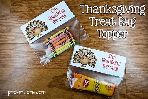 Thanksgiving Classroom Treat Bag Set of 12 Party Favors Turkey Gifts Turkey Toes Bag Topper