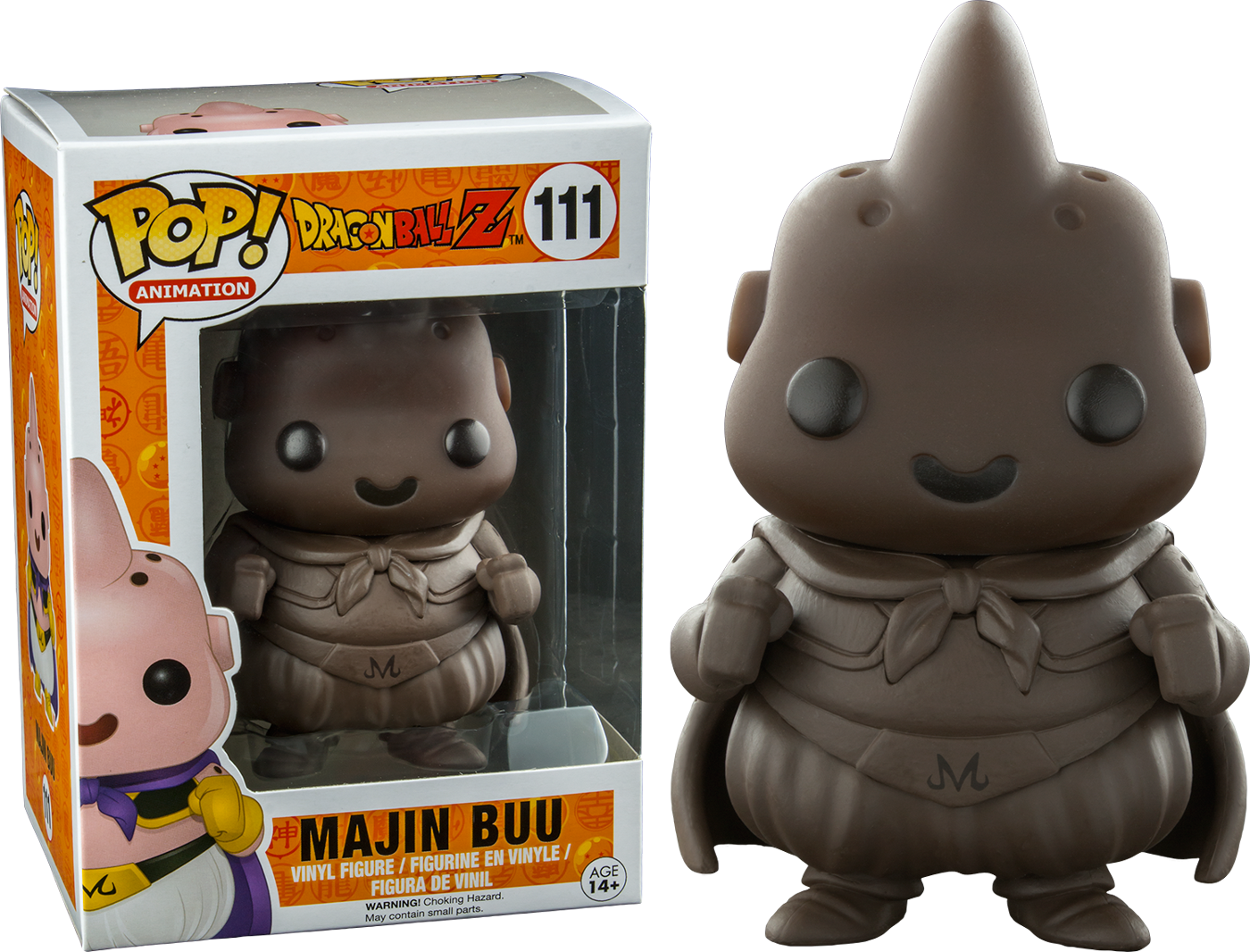 Dragonball Z Bettwäsche Funko Pop Dragonball Z Majin Buu Chocolate Exclusive Vinyl Figure
