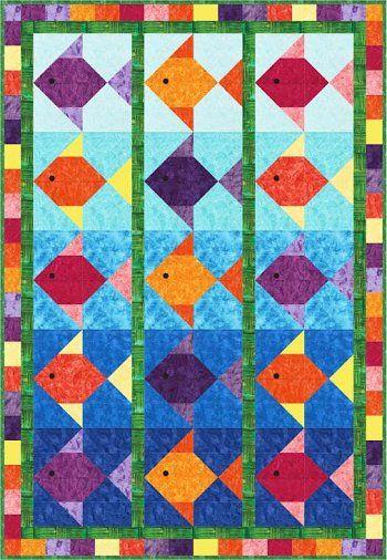 Free Fish Quilt Block Pattern - DopePicz | Quilts - Children ... : fish quilt block - Adamdwight.com