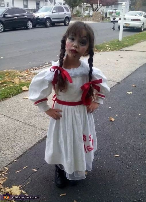 annabelle halloween costume contest at works com