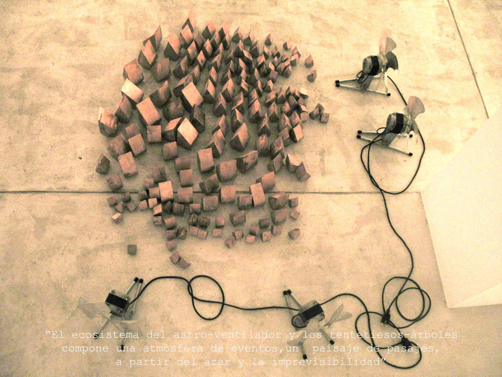 Artista: JOSÉ LUIS CONDE; Título: CANON PERPETUO; Exposición: ARTE JONDO; Exposición colectiva para la Nit de l'Art con motivo del primer aniversario de ABA, 2005. Comisario: FERNANDO GÓMEZ DE LA CUESTA.