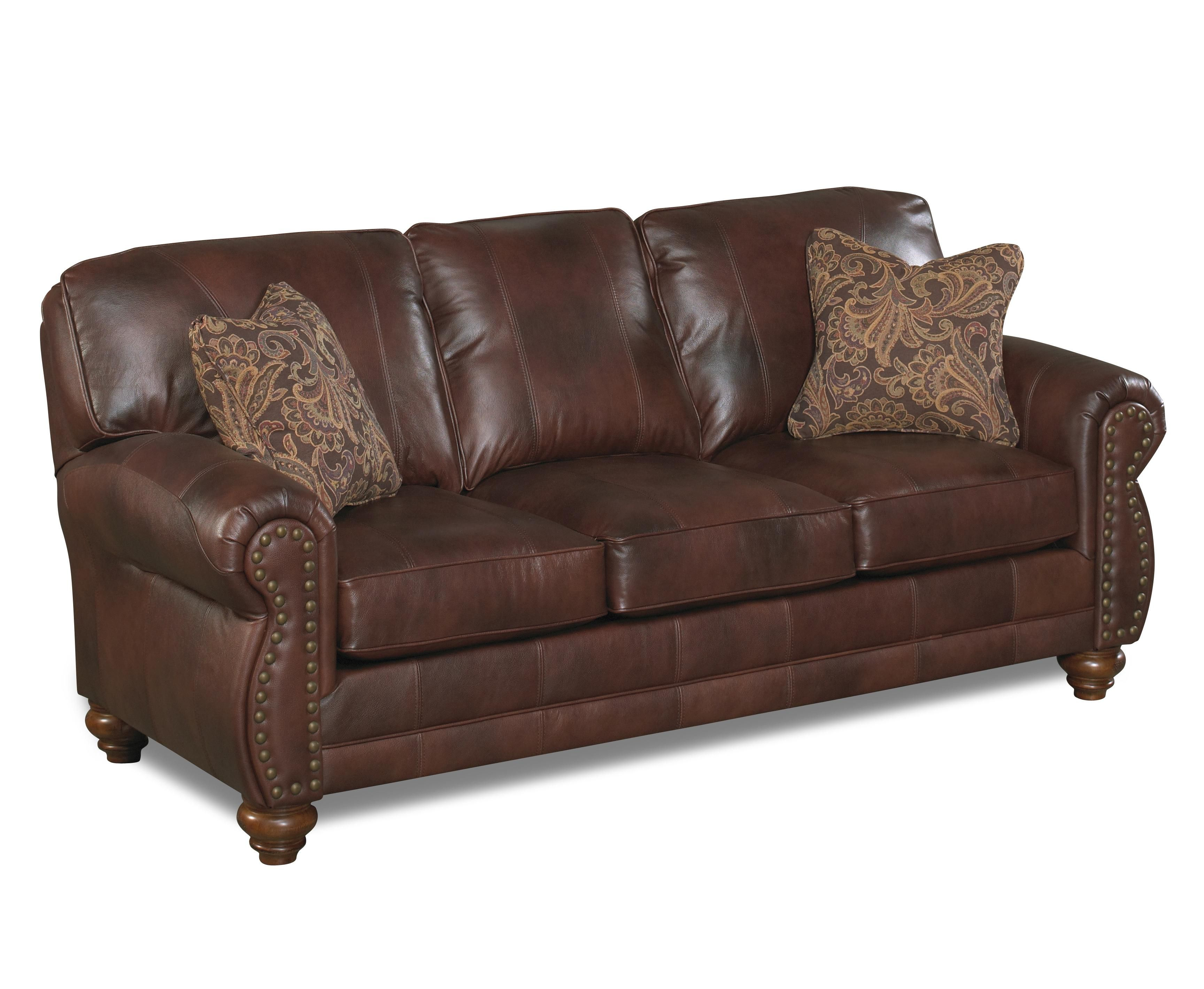 Noble Stationary Sofa By Best Home Furnishings 1639 00 Best Leather Sofa Goods Home Furnishings Nailhead Sofa Leather sofas with nailhead trim