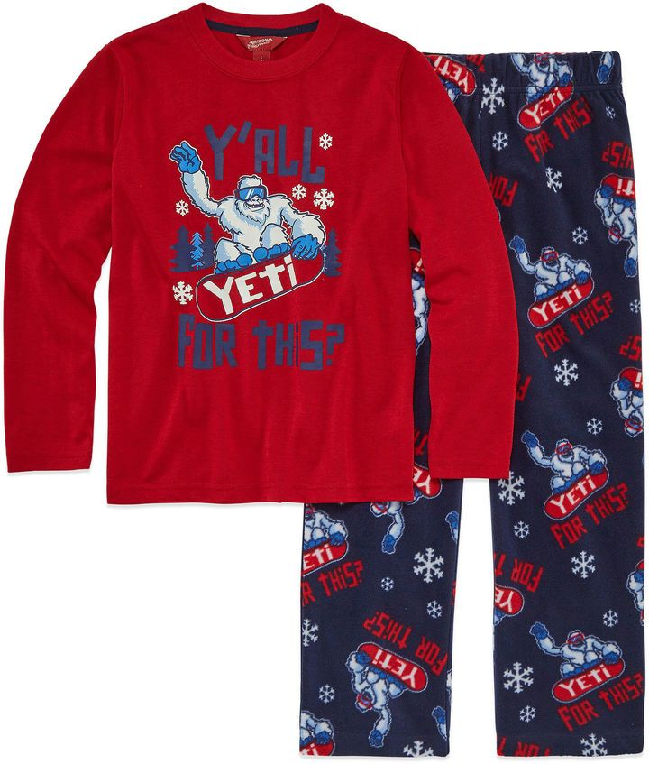 bb89784c0 Arizona 2-pc.Yeti Pajama Set Boys