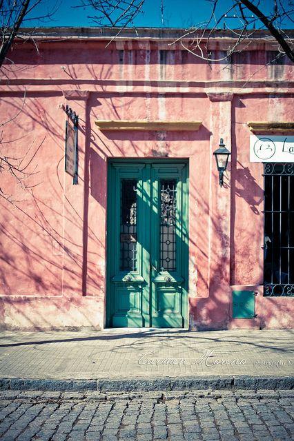 Fachada en Areco ♥ por Carmen Moreno.