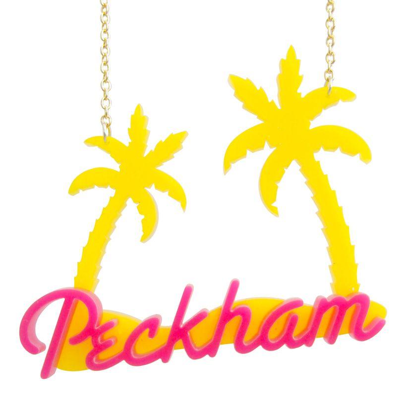 Peckham Necklace Yellow