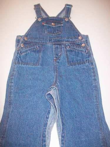 3a28a615c7d04 Lindo Macacão Levis Jeans For Girls Tamanho 24 Meses - R  25
