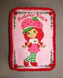 Excellent Strawberry Shortcake Character Cake Ideas Google Search With Personalised Birthday Cards Veneteletsinfo