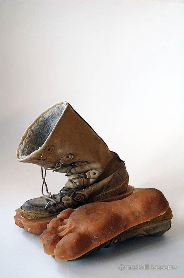 best website c66fe 0b0c8 Laissez des traces d animaux derrière vous avec ces étranges paires de  chaussures…