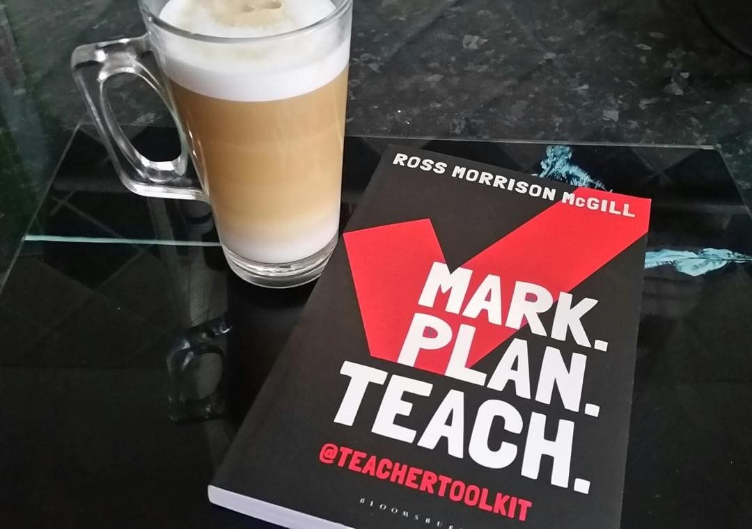 Always read with a coffee...