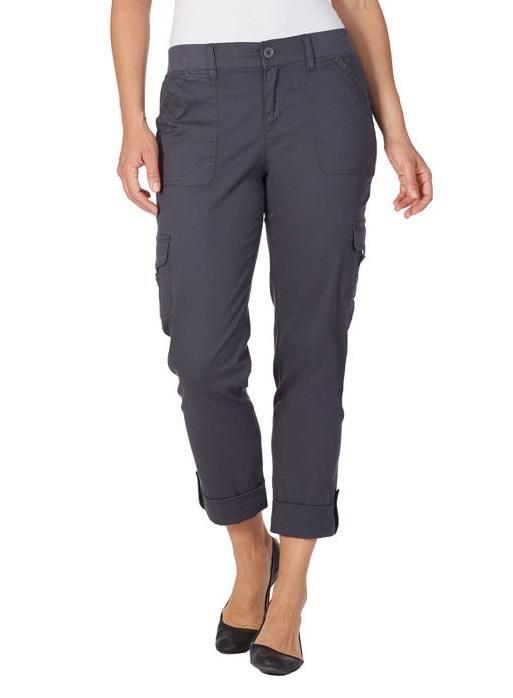 Gloria Vanderbilt Ladies Penelope Cargo Pant Costco Fashion In