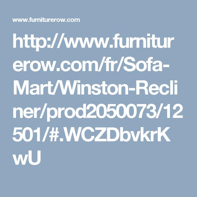 Http://www.furniturerow.com/fr/Sofa Mart/