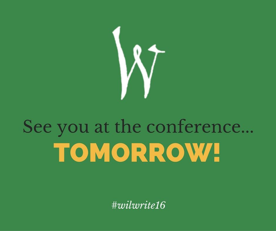 Ready to pitch, learn, and network? We will see you tomorrow! http://willamettewriters.org/wwcon/