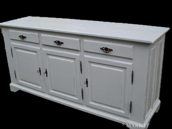 Dressoir Wit Landelijk : Wit geverfd antiek landelijk dressoir dressoir