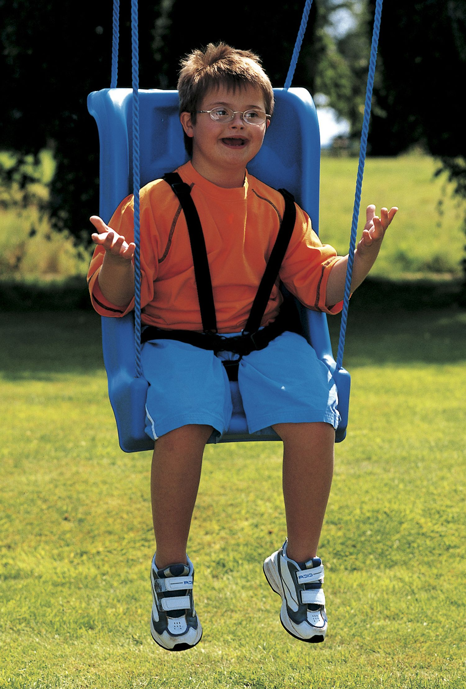 Especial Needs High Backed Adaptive Swing Seat Has Been