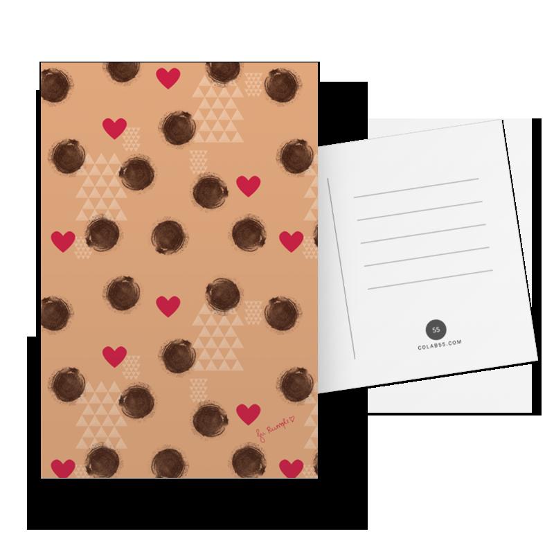 Cartão Poás do amor de @jurumple | Colab55