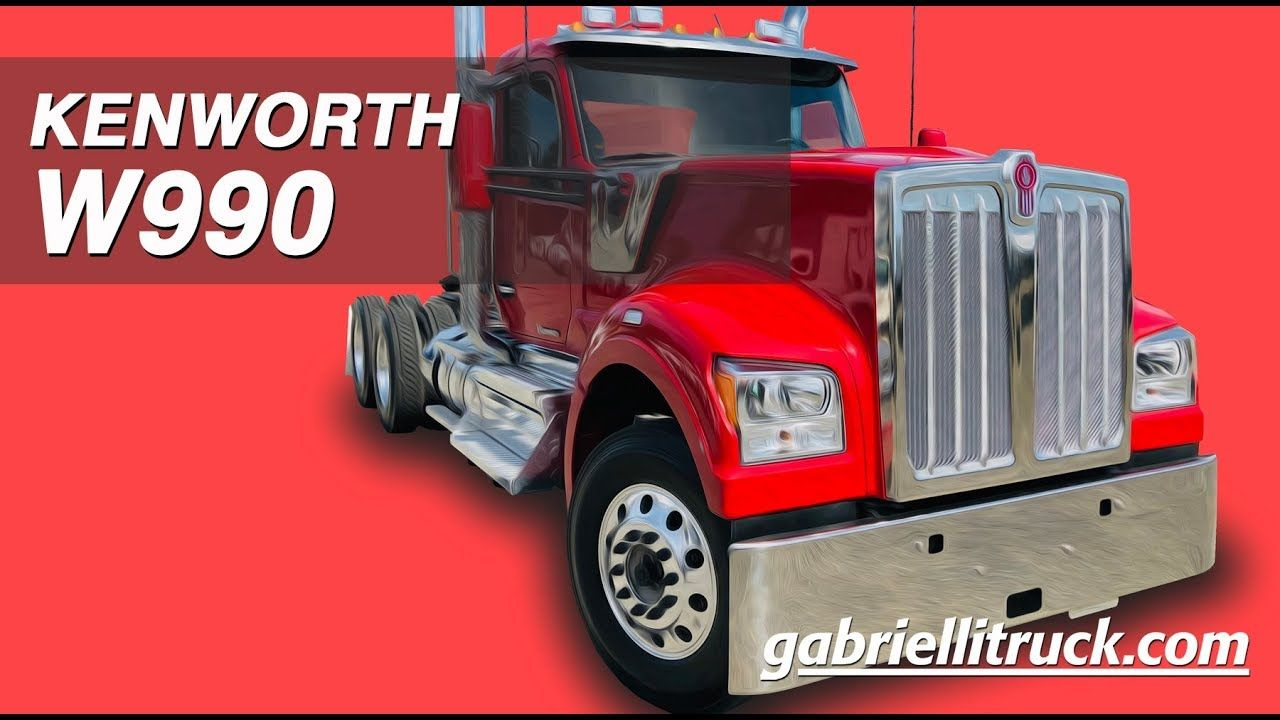 New Kenworth W990 Semi Truck For Sale Kenworth Semi Trucks For
