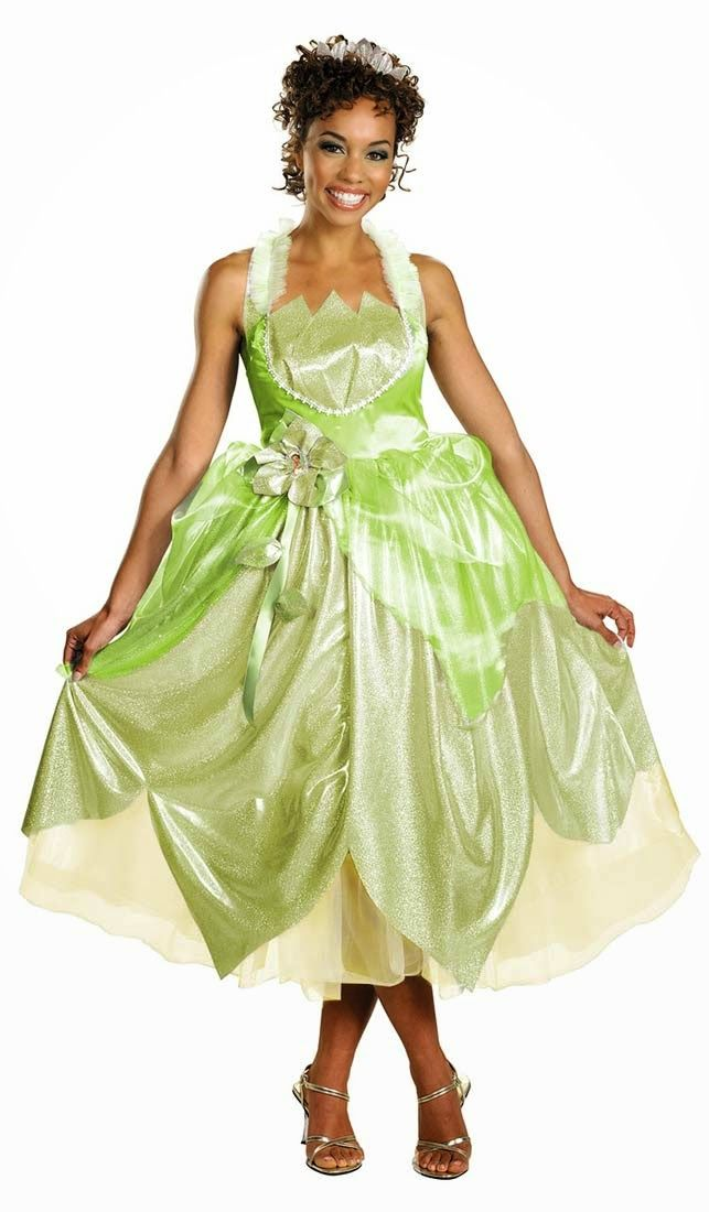 Costume Ideas for Women How to Dress Up as Princess Tiana (Disneyu0027s Princess and the Frog)  sc 1 st  Pinterest & Costume Ideas for Women: How to Dress Up as Princess Tiana (Disneyu0027s ...