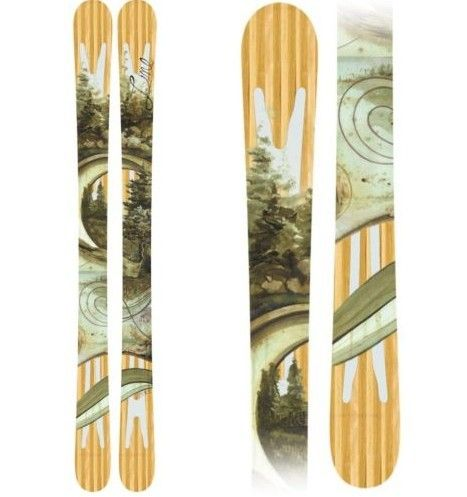 skiing, twin tips would be nice
