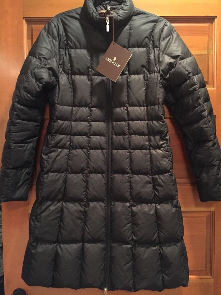 black moncler coat ebay