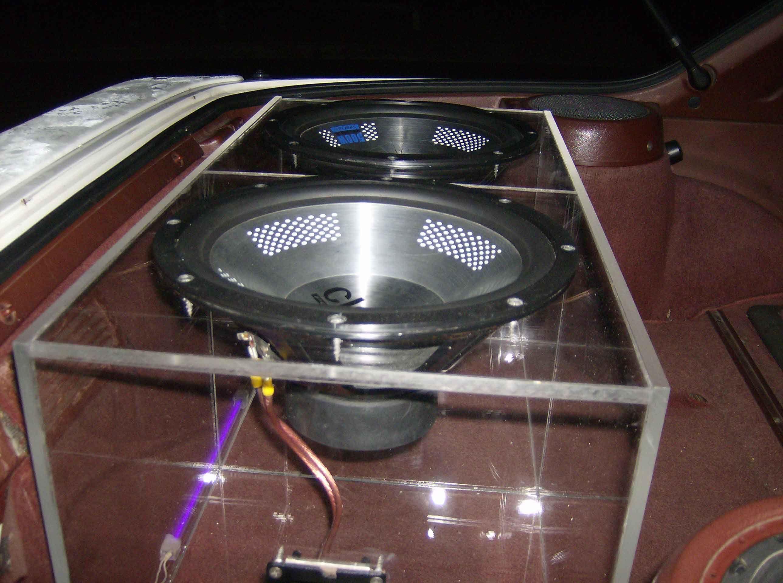 Cool Speaker Boxes custom sub box - rx7club   cool subwoofer boxes   pinterest