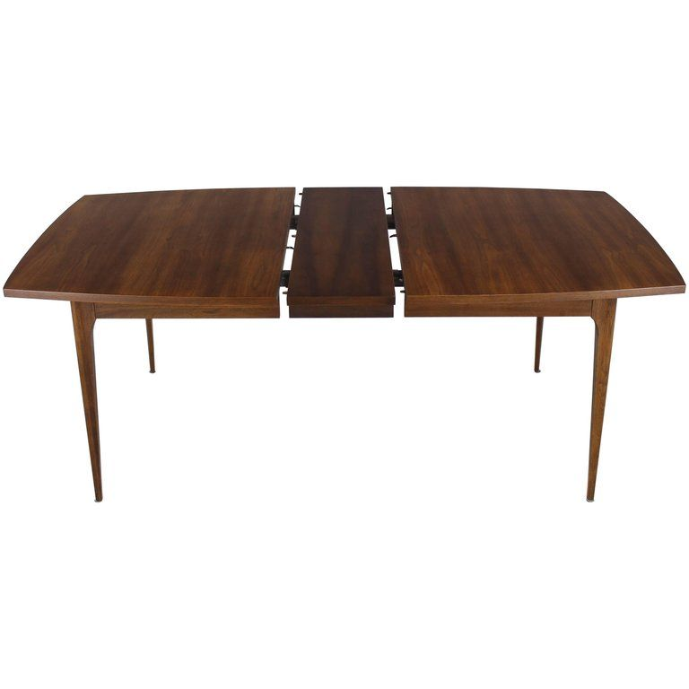 Danish Mid Century Modern Walnut Dining Table Walnut Dining