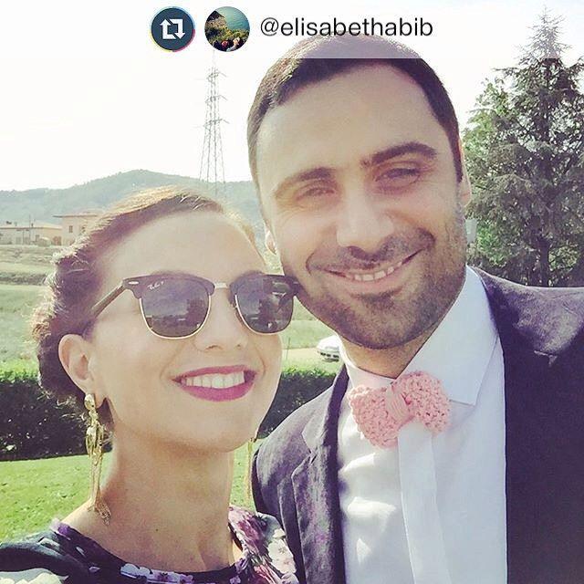 It all started here 08-05-2015 #bowtie #BAAL #pink #knit #wedding #summer #etsy #elisabethandknits #mariolara @dropsdesign #dropsparis