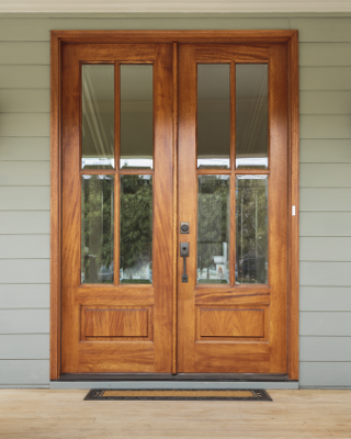 Andalucia 4 Lite True Divided Lite Double Entry Door Double Entry Doors Entry Doors Exterior Doors