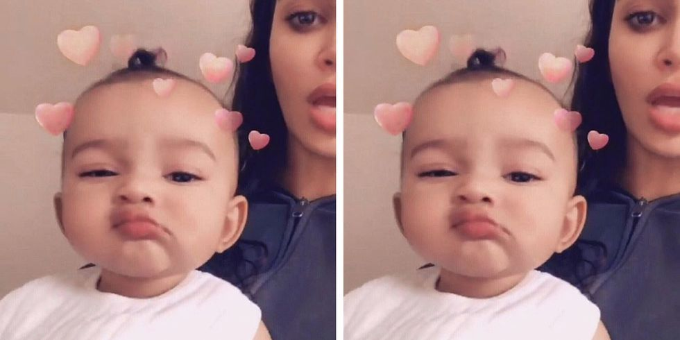Kim Kardashian Just Revealed Chicago West S Middle Name And You Ve Definitely Heard It Before Kim And Kanye Kids Kim Kardashian Kids Names Kardashian Kids
