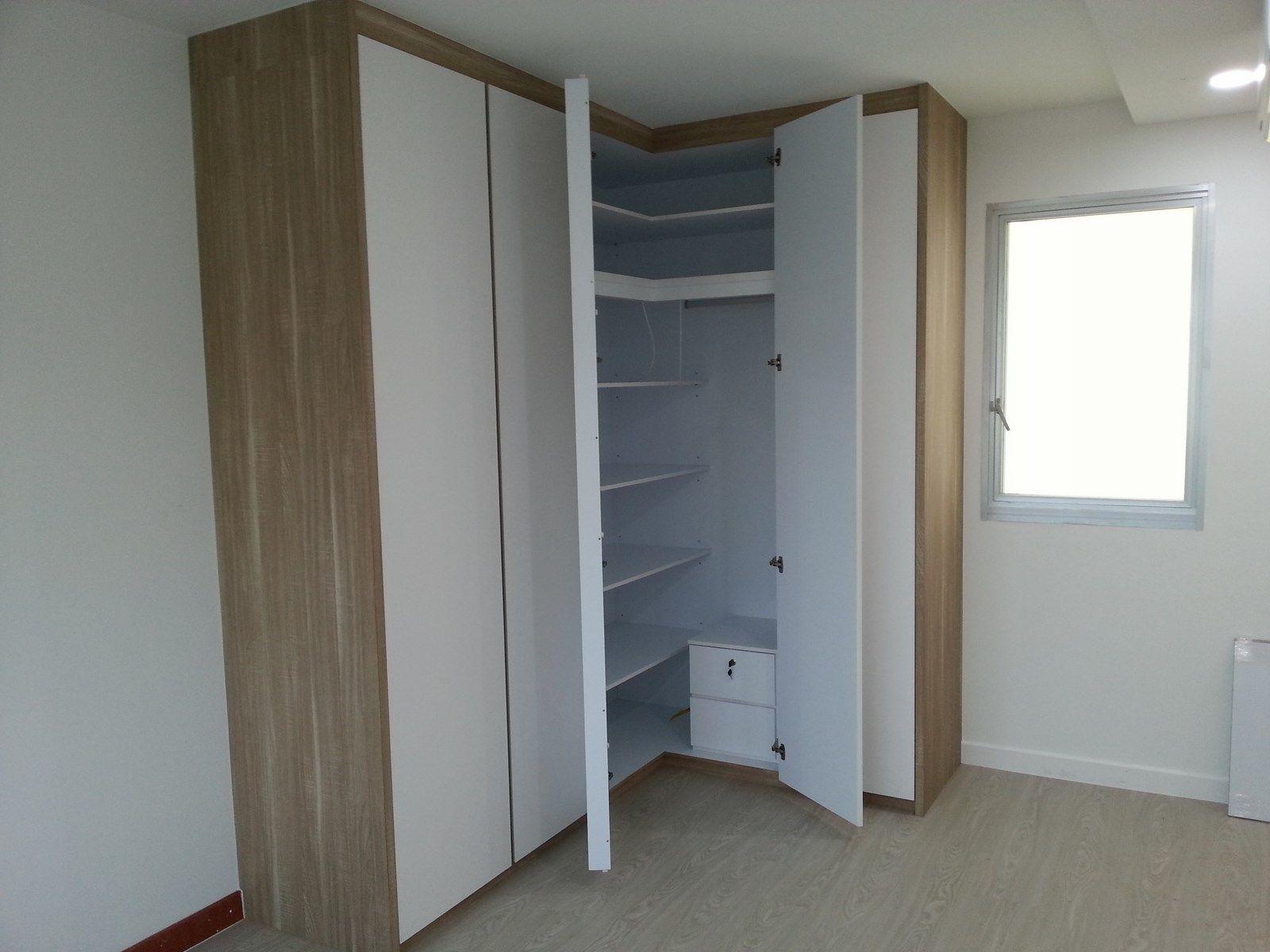 Gallery 54206 10 reno bedroom pinterest bedrooms corner closet and bedroom closets - Corner wardrobe design ...