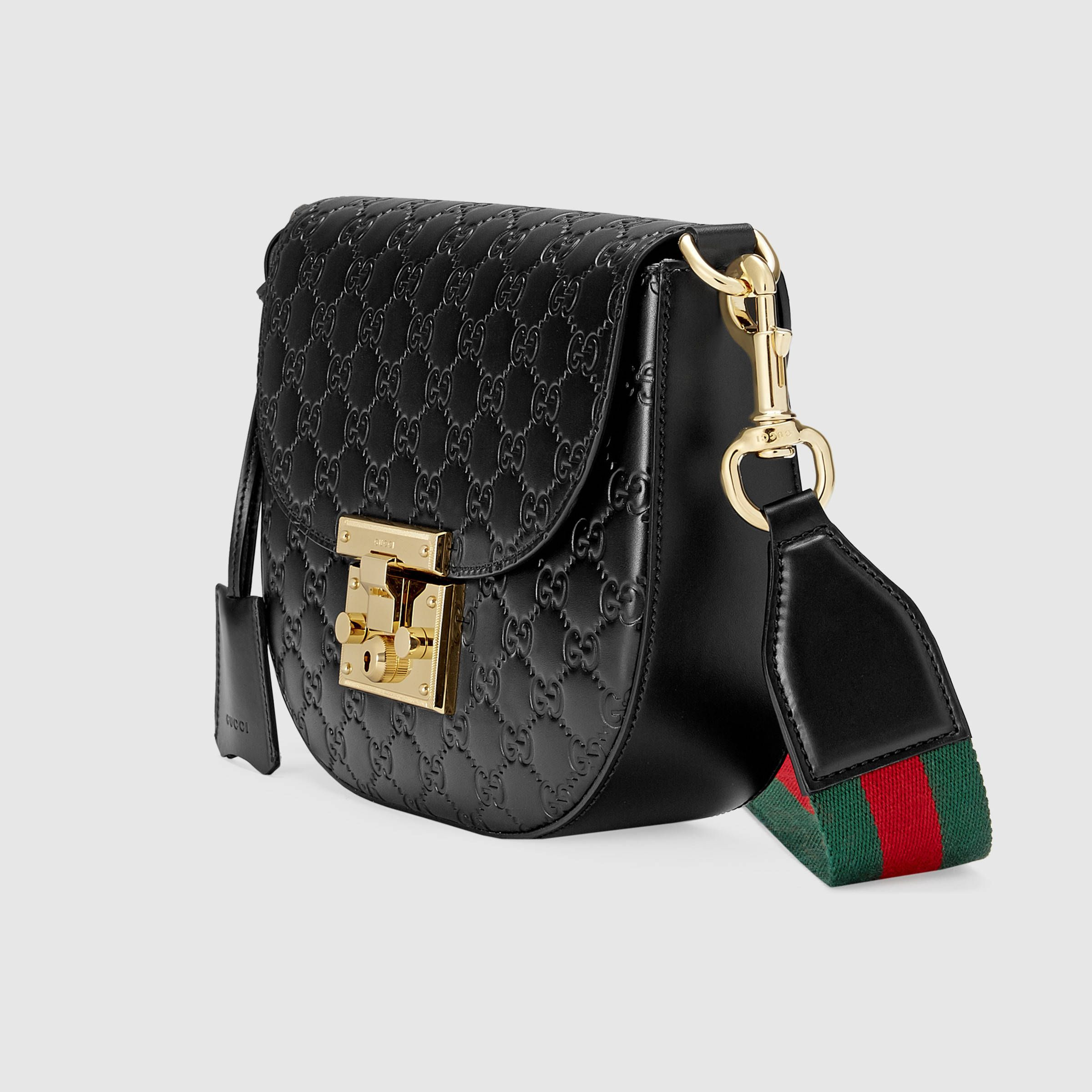 a6d7a9c48ff8 Gucci Padlock Gucci Signature leather shoulder bag Detail 2