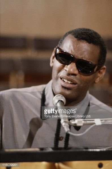 News Photo : American soul and blues musician Ray Charles at...