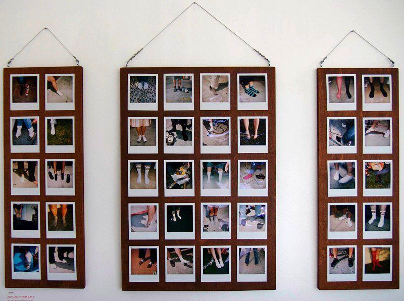Polaroid display - need a way to display our wedding polaroids.