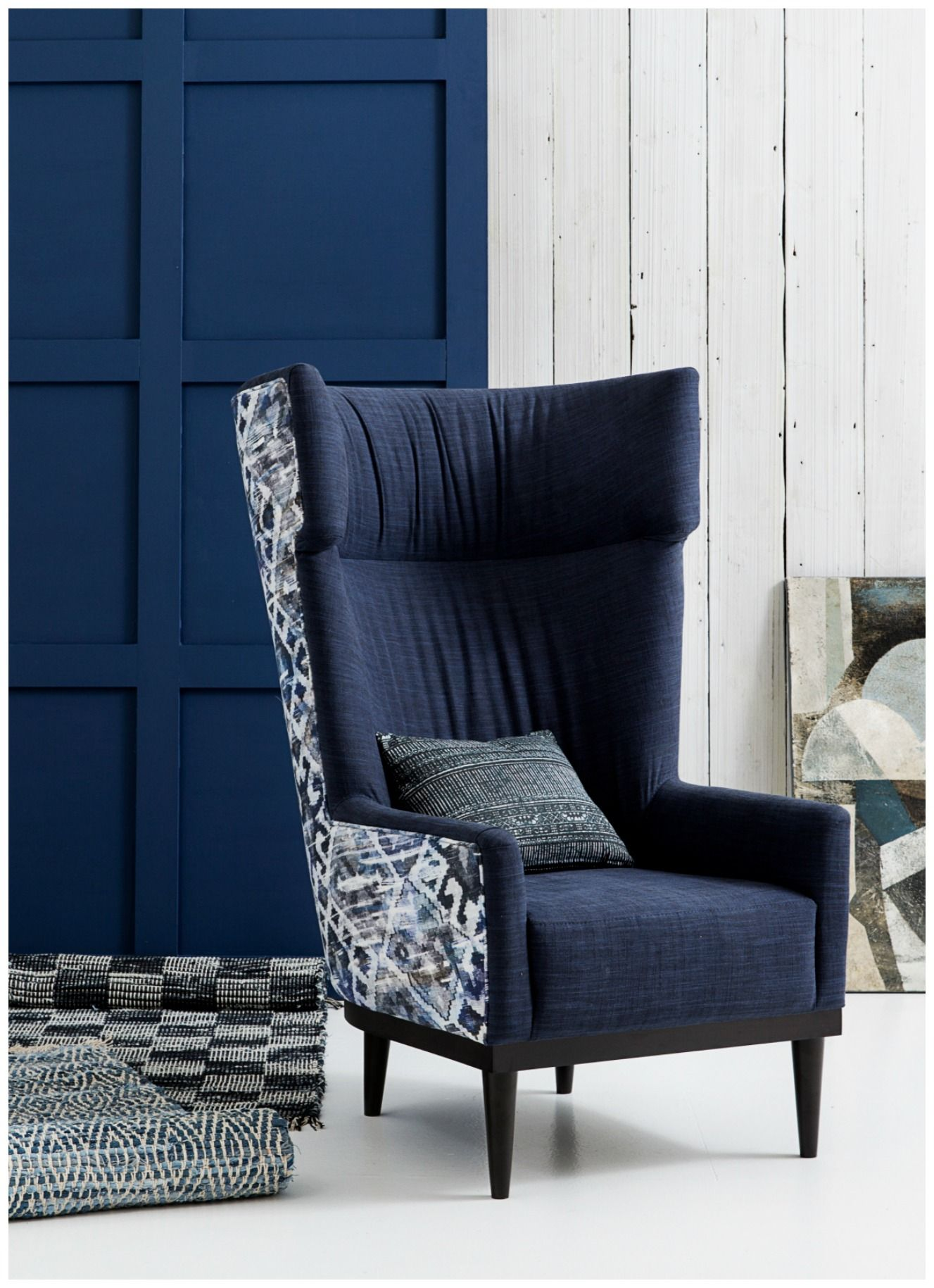 Oscar Wing Back Chair | High back chairs, High back accent ...