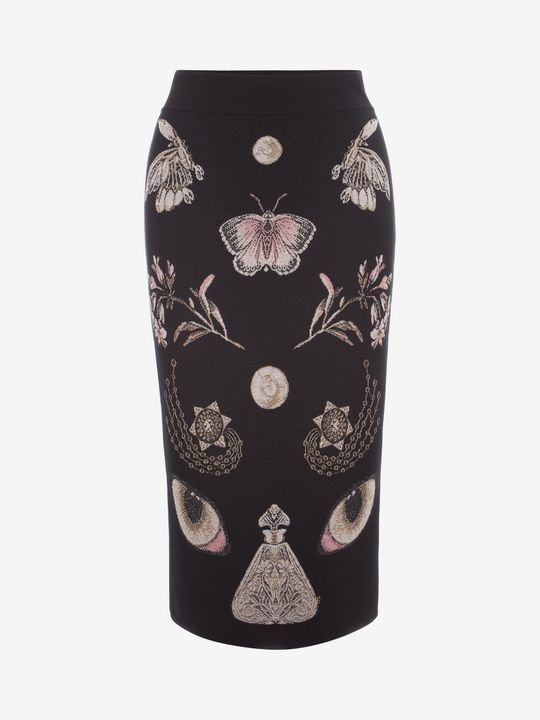 c6b8a90633 Shop Women's Obsession Pencil Skirt from the official online store of  iconic fashion designer Alexander McQueen