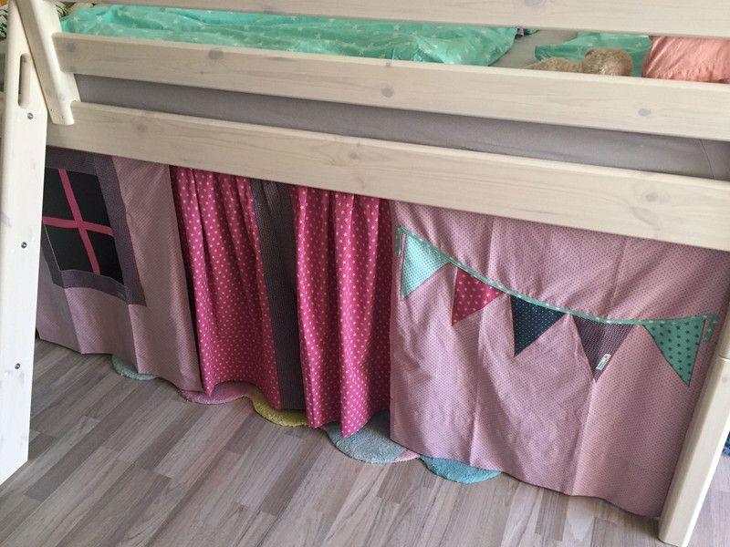 Vorhang Für Etagenbett : Hochbett vorhang nähen inspiration ohne anleitung schnittmuster