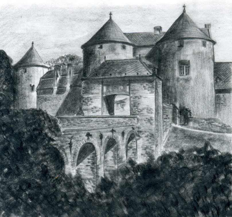 romantic medieval castle drawings made easy learn how to draw them in few simple steps