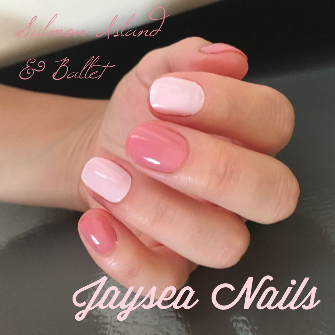 Pretty nails are quick and easy with Jaysea Nails nail polish wraps. #jayseanails #nailpolishwraps #nailstrips #nailwraps #diymanicure #accentnails #pinknail #prettynail